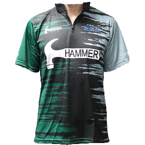 Hammer Dye-Sub Jersey (Black/Green)