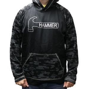 Hammer Hoodie Pullover - Black / Carbon