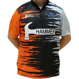 Hammer Dye-Sub Jersey (Black/Orange)