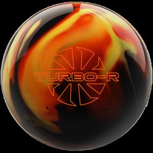 Ebonite Turbo/R - Black / Copper / Yellow