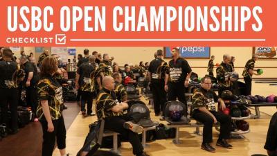 USBC Open Championships Checklist
