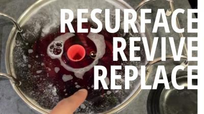 Resurface, Revive, Replace