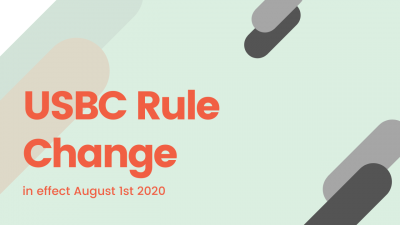 USBC Rule Changes [August 1, 2020]